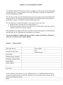 subject access request form thumbnail