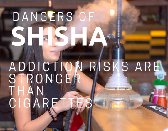 DANGERS OF SHISHA SMOKING – ADDICTION RISKS ARE STRONGER THAN CIGARETTES
