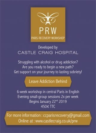 Paris Recovery Workshop Flyer