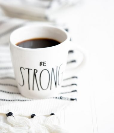 Be strong mug, how to prevent relapse, Castle Craig rehab