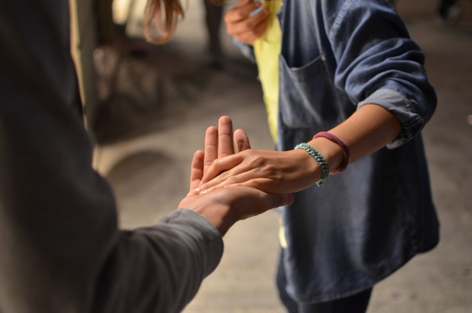 Helping hands reaching out; how to help an alcoholic friend, Castle Craig