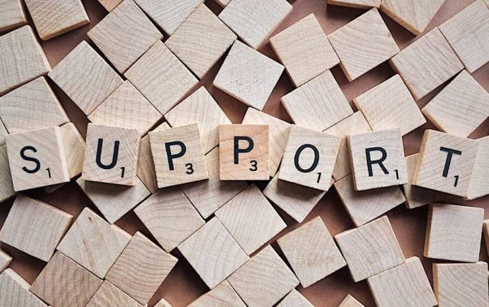 Support scrabble tiles; Finding the right recovery support group, Castle Craig rehab