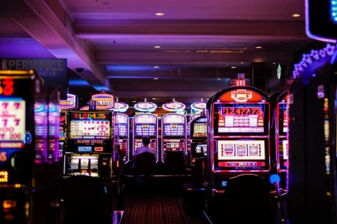 arcade with gambling machines; problem gambling in the uk rising, Castle Craig rehab