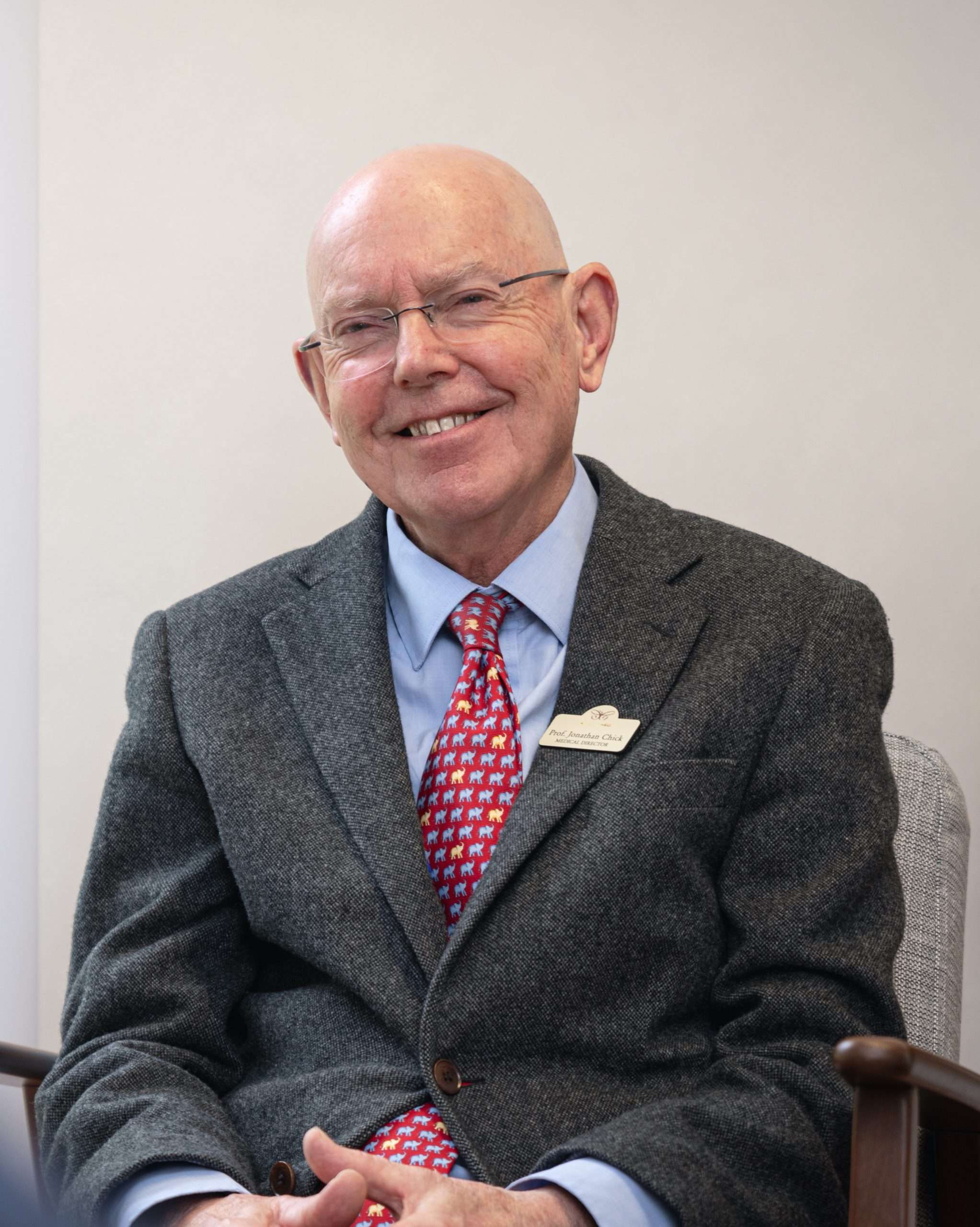 Picture of Prof. Jonathan Chick, MA (Cantab), MPhil, MBChB, DSc, FRCPsych, FRCPE