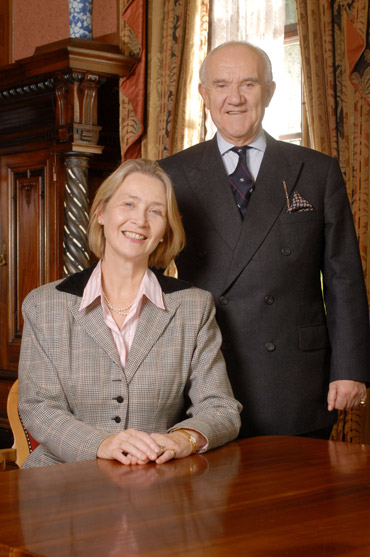 Castle Craig founders, Peter and Dr. Margaret McCann